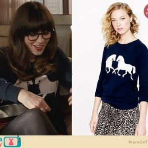 J.Crew Horsing Around Worn On TV New Girl